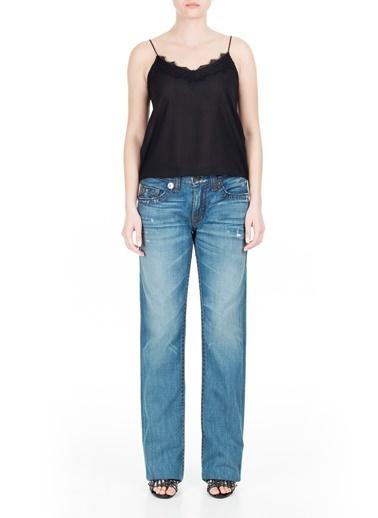 True Religion  Jeans Erkek Kot Pantolon M24800M38 Lacivert